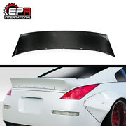 For Nissan 350z Z33 Rb-style Ver 2 Carbon Rear Spoiler Boot Wing Glossy Bodykits