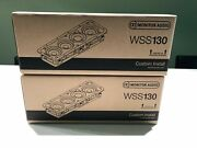 Brand New Monitor Wss130 - In-wall Speakers X 2 Units