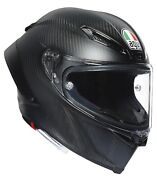 Agv Pista Gp Rr Matt Carbon Helmet - Dot And Ece- Many Sizes Fast And Free Shipping