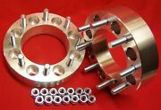 1994-2010 Chevy 2500 3500 Dually Hd Gmc 2.5 8x6.5 Wheels Spacers 14 Mm Studs