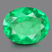 Igi Certified 1.98 Ct Emerald Panna From Colombia Natural Gemstone