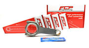 Fcp H-beam Forged Steel Conrods 128.52mm For Ford Cosworth 2.0 Yv N5 Stahlpleuel