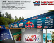 13oz Scrim Banner Gloss - 38x150and039 - For Solvent/eco-solvent/uv Printers Only