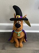 Sugarloaf Scooby Doo Halloween Plush Witch 2012 Nen Rare