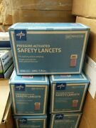 Medline Pressure Activated Satety Lancets Ref Mphst28 Lot Of 15 Boxes