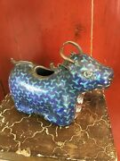 Chinese Ming Dynasty Cloisonne Bull Water Pot 17th Century