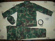 07and039s Series China Pla 2nd Artillery General Digital Camo Combat Clothingset