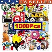 100pc Mix Lot Stickers For Skateboar Graffiti Laptop Sticker Luggage Car Decals