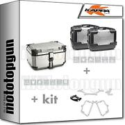 Kappa Top Case Kve58a + Side-cases Kgr46pack2 Honda Nc 750 S / Dct 2014 14