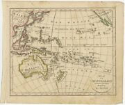 Antique Map Of Australia And New Zealand By Walch 1826