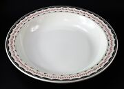 Wedgwood Rare Antique Early X Year Mark Huge 17 3/8 Rimmed Serving Bowl Platter