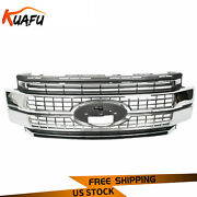 For 17-19 Ford F-250 -f350 F-450 F-550 Super Duty Chrome Grille