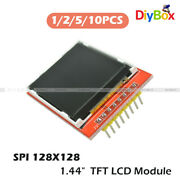 1/2/5/10pcs 1.44 Red Serial 128x128 Spi Color Tft Lcd Module Replace Nokia 5110