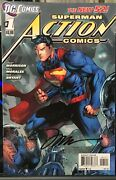 Superman Action Comics 1 Jim Lee Signed Variant Cover Dc The New 52 + More