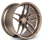 20x11.5 Ferrada F8 Fr5 5x120 +32 Matte Bronze Wheels Set Of 4