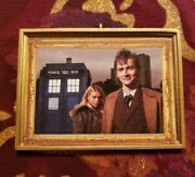 Doctor Who Tenth Doctor David Tennant And Rose Tyler Christmas Ornament/magnet/dhm