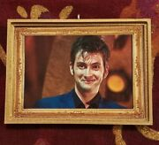 Doctor Who Tenth Doctor David Tennant Smiling Christmas Ornament/magnet/dhm