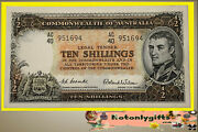 10 Shillings R16 Coombs-wilson 1954 ... Virtually Uncirculated Ac/40