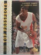 2003-04 Upper Deck Top Prospects Lebron James Gold Collection Rookie Rc /100