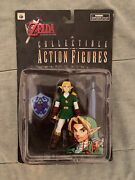 Legend Of Zelda Ocarina Of Time Collectible Link Action Figure 1998 N64 In Box
