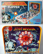 Rare Vintage 90's Star Mission Space Electric Flipper Pinball Mehno Slovenia New