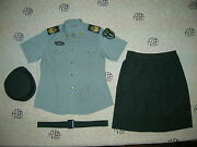Obsolete 07and039s China Pla 2nd Artillery Woman Nco Short-sleeved Uniformsetc