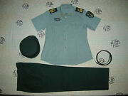 Obsolete 07and039s China Pla 2nd Artillery Woman Nco Short-sleeved Uniformsetd