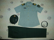 Obsolete 07and039s China Pla 2nd Artillery Woman Nco Short-sleeved Uniformsetb