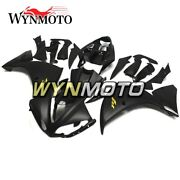 Covers For Yamaha 2009 2010 2011 Flat Black Gold Decals Fairing Kit Yzf1000 R1