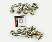 Obx Ver1 Shorty Header Manifold Exhaust Fit 1979-1993 Mustang 5.0l