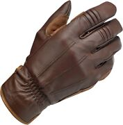 Biltwell Leather Work/motorcycle Gloves Chocolate 2xl 2x-large Gw-xxl-01-co