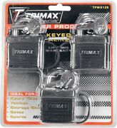 Trimax Keyed-alike Solid Brass Waterproof Padlock Security Safety Home