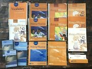 Lot Of Making Meaning And Being A Writer Grade 3 Program Books Set Vocabulary 3rd