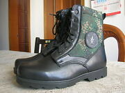 07and039s Series China Pla Second Artillery Digital Camo Combat Cattle Leather Boots