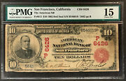 Nqc Fr. 613 10 1902 Red Seal Ch 6426 National Bank Note