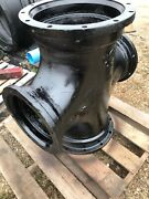 16andrdquo X 12andrdquo Cross Mj Mechanical Joint C110 Full Body Ductile Iron Us Pipe