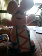 New Vintage 1989 Energizer Bunny 24 Plush Toy Pink Super Plush First Edition