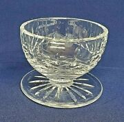 Waterford Cut Crystal Lismore Footed Dessert Dish 4 Bowl Ireland Signed Mint