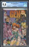 Gen 13 Limited Series 1 Cgc 9.8 2/94 1st Title Devoted To Gen 13 Poster Jim Lee