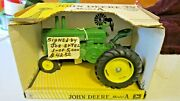 Vintage 1989 Die-cast John Deere Model A Tractor Beckman High Signed And No.