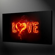 Abstract Love Canvas Wall Art Pictures Prints Free Uk Pandp