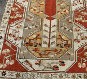 Caucasian Rug - Handwoven Wool - Antique - 7and039 X 4and039 84 X 47 Without Tassles