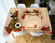 3d Decoration G677 Christmas Tablecloth Table Cover Cloth Birthday Party Amy