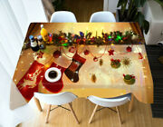 3d Decoration G678 Christmas Tablecloth Table Cover Cloth Birthday Party Amy