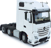 Marge Models 132 Scale Mercedes-benz Bigspace Tractor Unit Truck 6x2 White