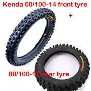 2.50-14 60/100-14 80/100-12 Front And Rear Knobby Tyre + Tubes For Crf50 70