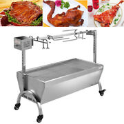Hog Roast Machine Stainless Steel Charcoal Barbecue Bbq Grill Rotisserie Grill