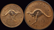 1961 Perth Proof Pair Penny And Halfpenny Pcgs Pr65rd