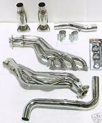 Obx Steel Catted Exhaust Long Tube Header For 1999-2003 Ford F-150 5.4l