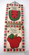 Watermelon And Apple Signangelic Seed Co.handcrafted8 By 2and3/4new